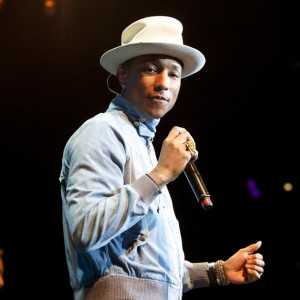 Superstar singer Pharrell Williams performs at his MasterCard Priceless gig, held last night at Brooklyn Bowl, London. The public can find out about forthcoming gigs and how to get tickets at pricelesslondon.co.uk