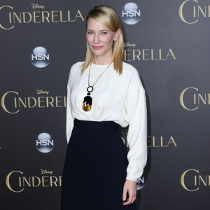 Cate Blanchett arrives at the Los Angeles Premiere of Disney's 'Cinderella'