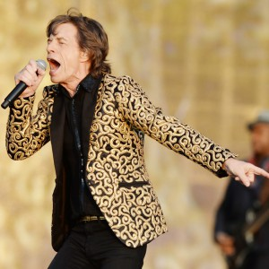 The Rolling Stones perform in Hyde Park, London