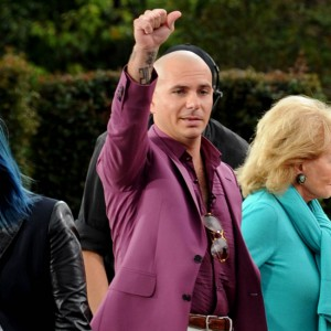 Pitbull AKA Armando Christian Pérez guest stars on TV show 'The View' from Disneyland!