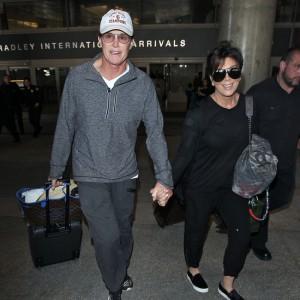 Kardashians seen at LAX