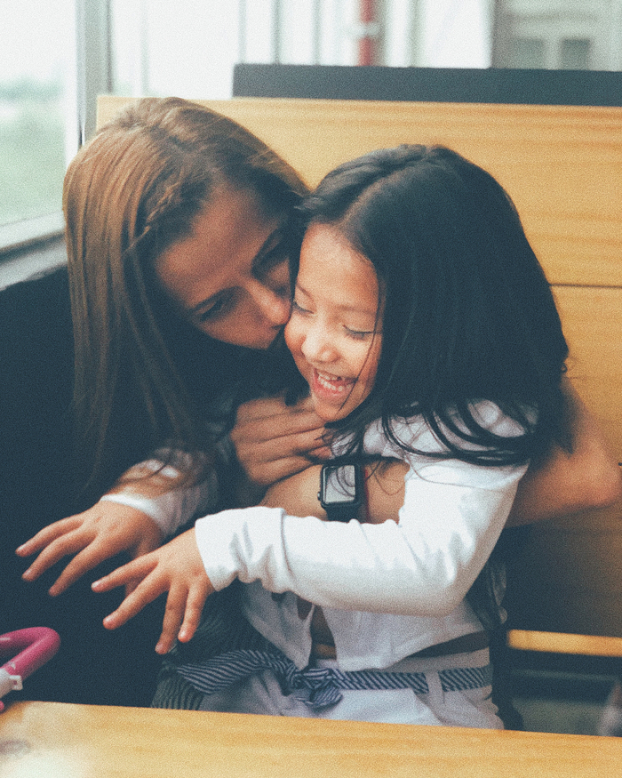 Hellen (Hija de Andy Rivera) & Luz Galeano (Madre de Andy Rivera)