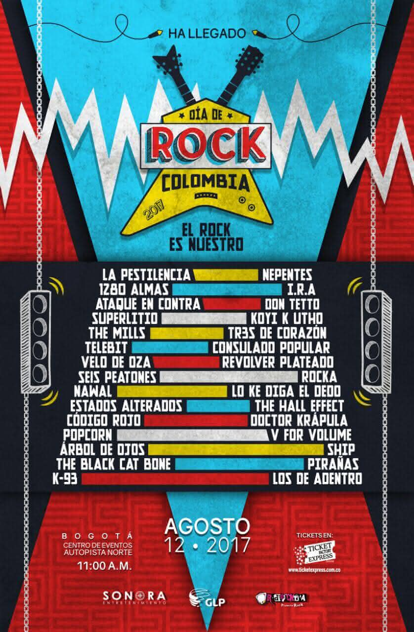 Cartel Rock Colombia